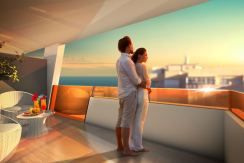 strand appartementen penthouses Torrevieja
