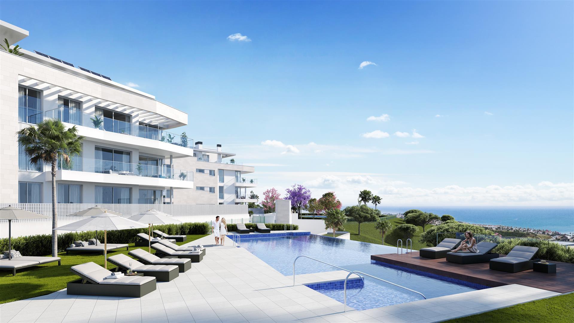 Exclusieve moderne appartementen te koop in Mijas Costa