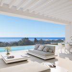 moderne zeezicht villa cabopino marbella