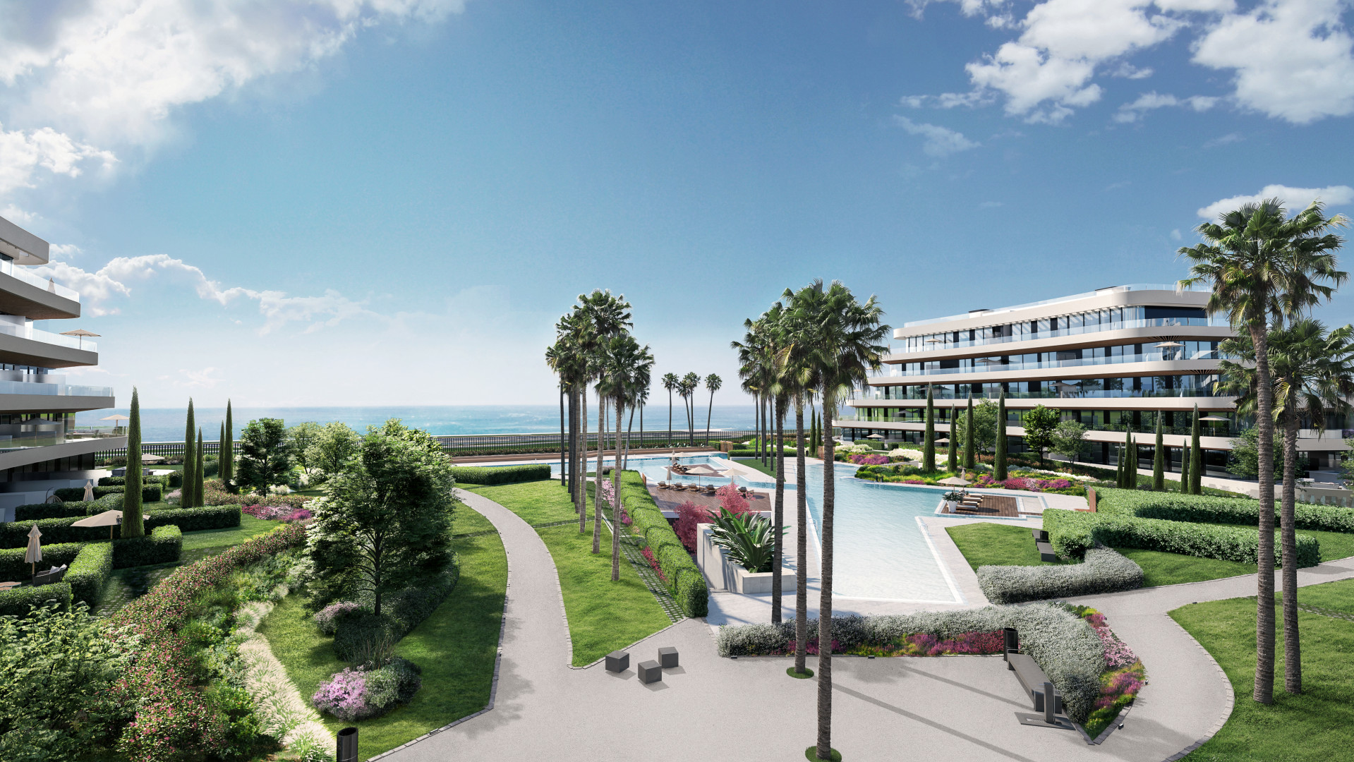 moderne strand appartementen torremolinos costa del sol