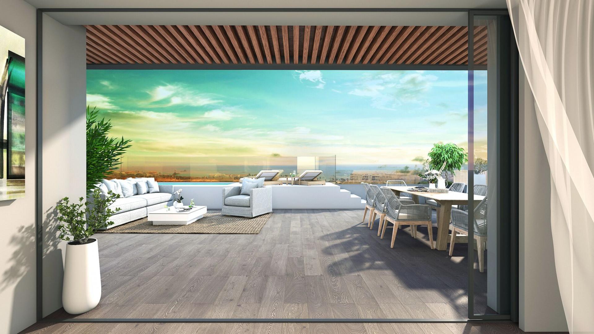 Nieuwe appartementen La Cala de Mijas costa del sol