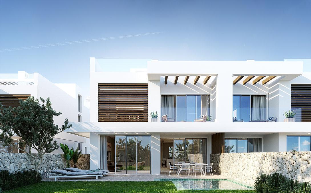 geschakelde villa's in Cabopino marbella