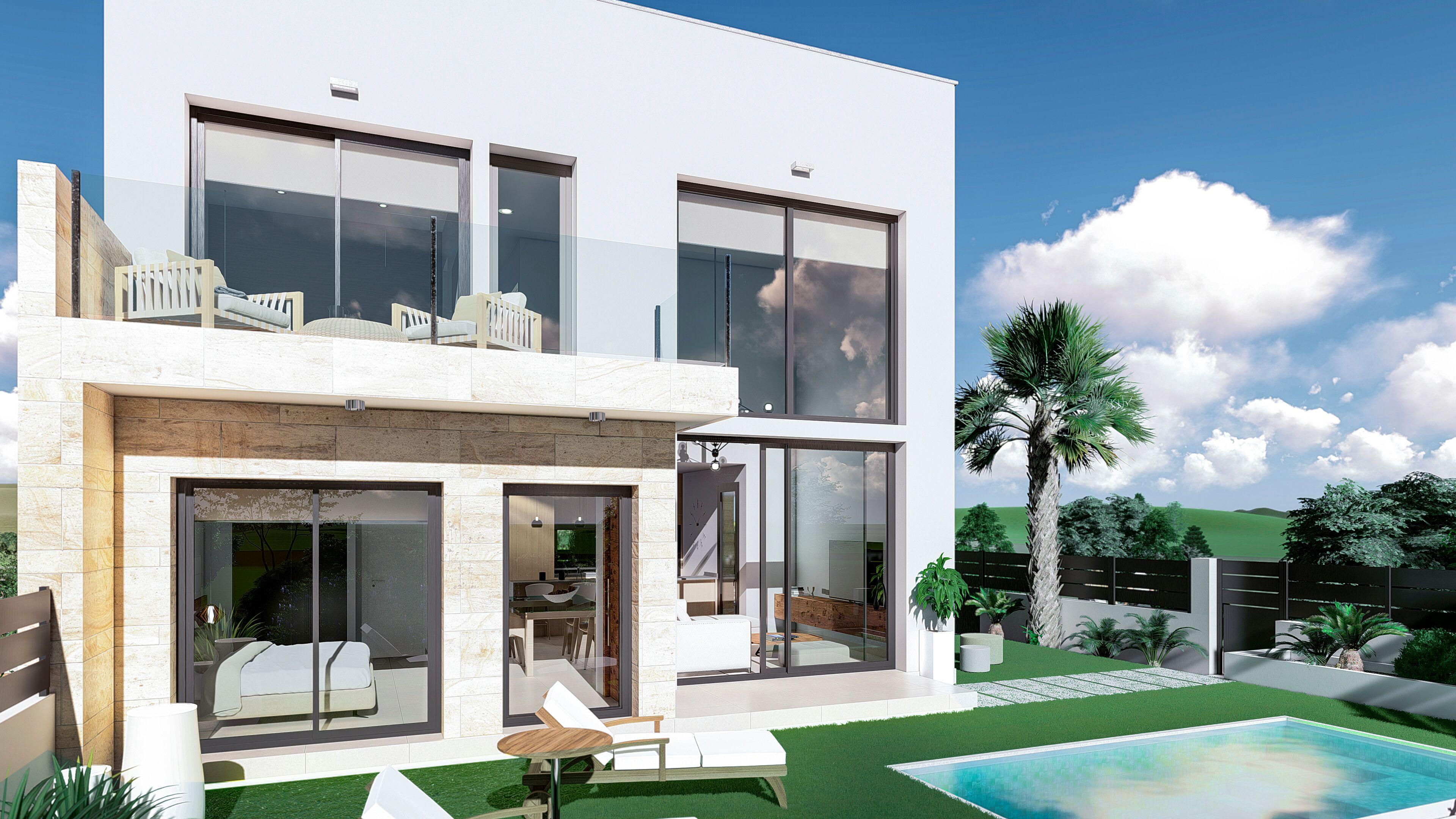 Moderne villa's nabij Guardamar, Costa Blanca Zuid