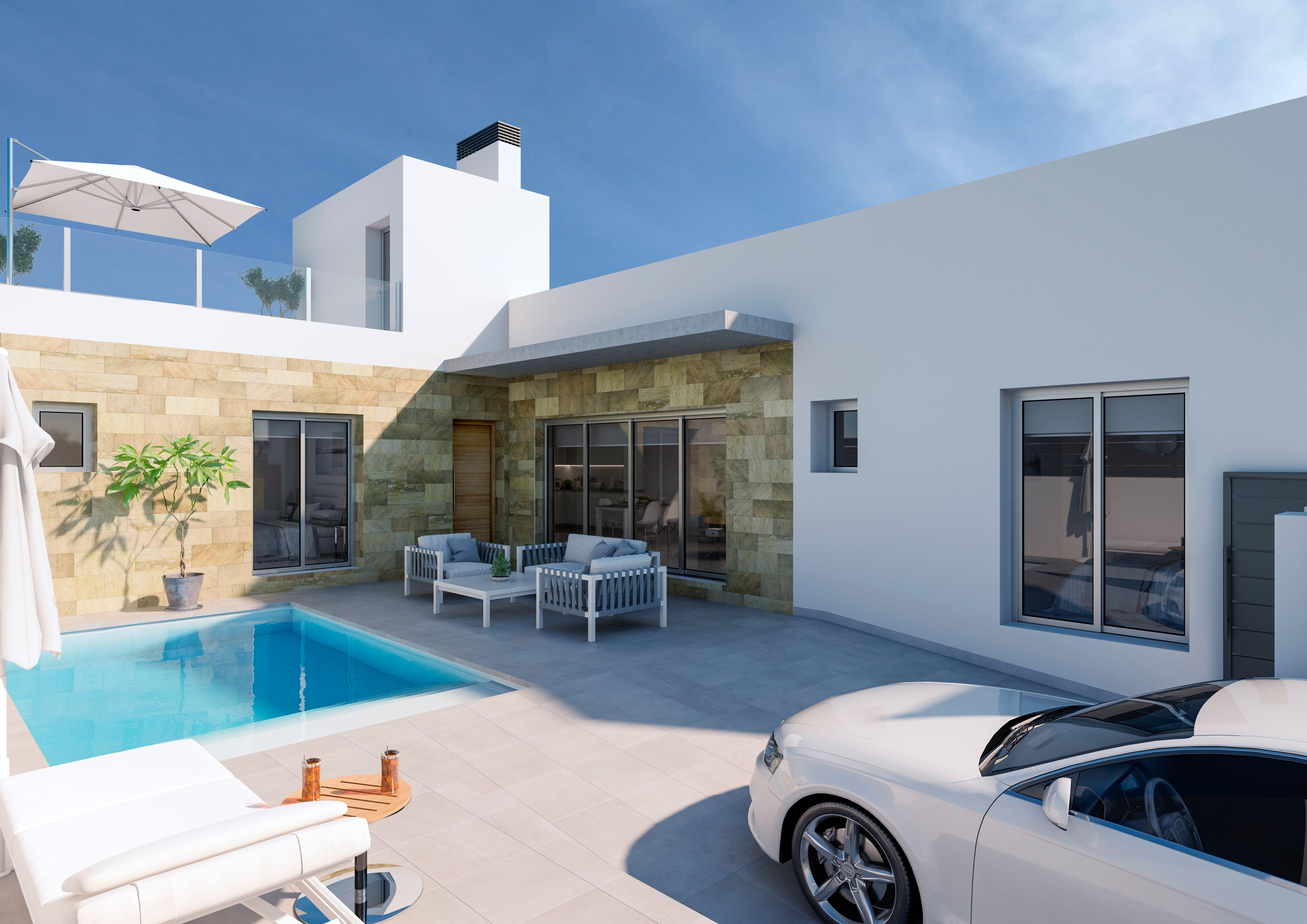 Moderne luxe villa 39 s nabij guardamar costa blanca zuid for Moderne luxe villa