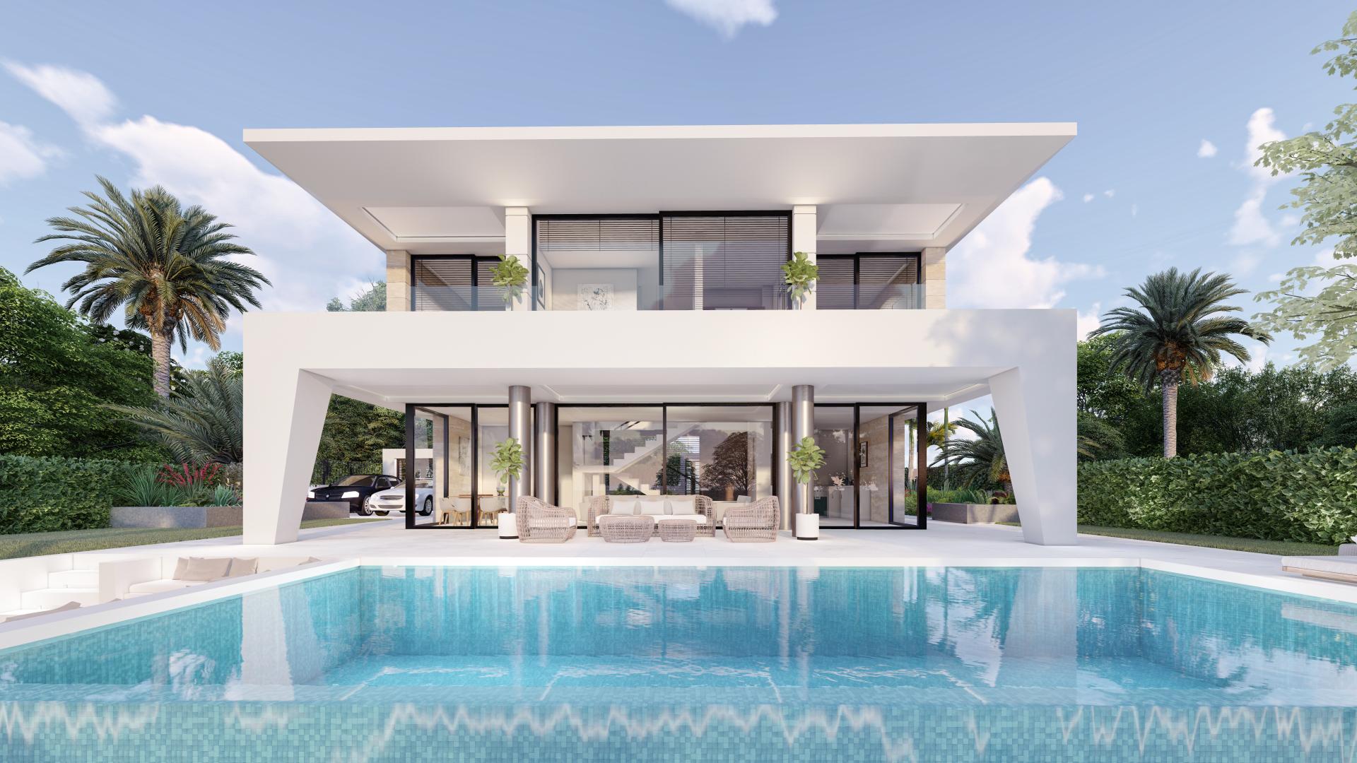 Moderne villa's in Puerto de la Duquesa Manilva