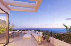 Moderne schakel woningen Mijas Costa costa del sol