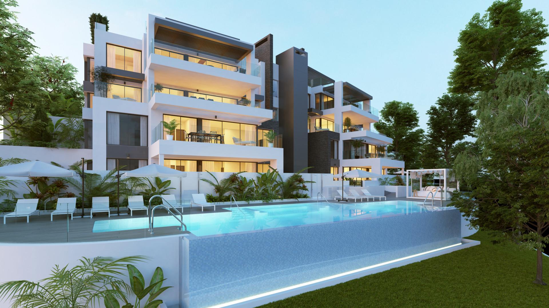 moderne appartementen Benahavis marbella