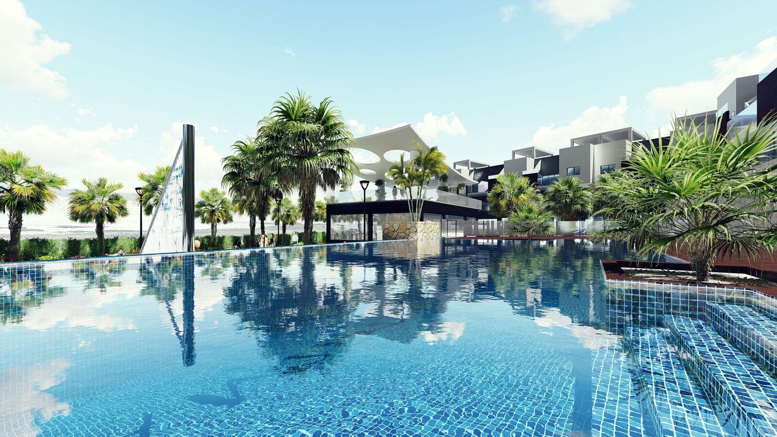 Goede belegging: Appartementen met verhuurkantoor in Guardamar