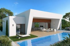 Moderne bungalows Rojales Costa Blanca Zuid