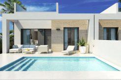 Moderne bungalows prive zwembad Costa Blanca Zuid