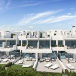 moderne strand woningen Estepona Spanje