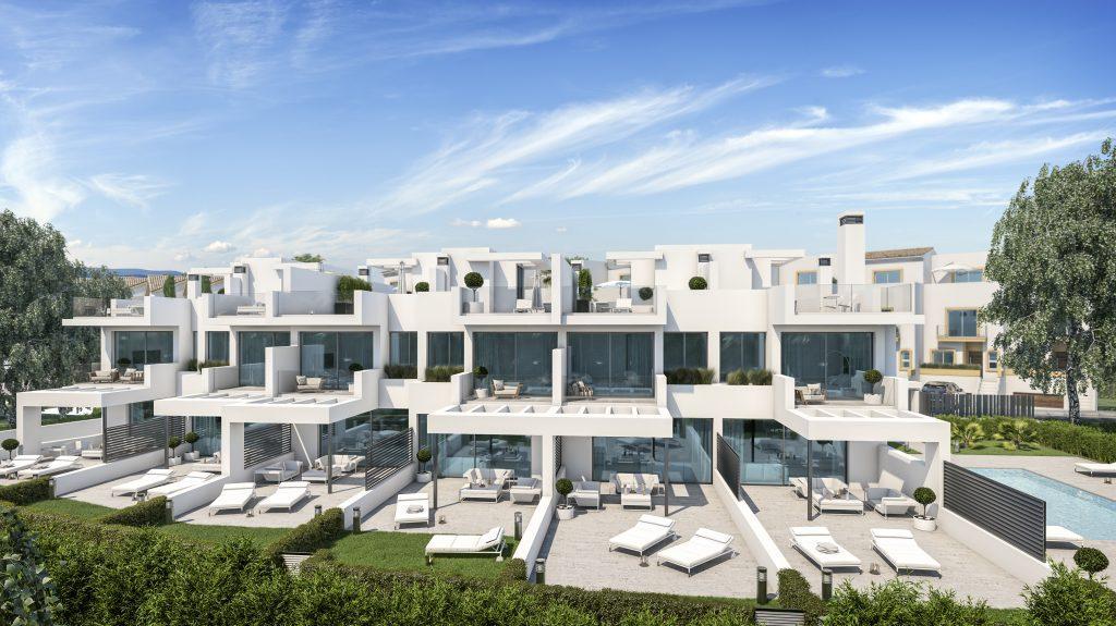 moderne strandhuizen Estepona west costa del sol