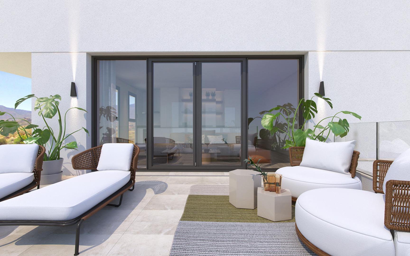 modern appartement Mijas Costa Costa del Sol Spanje