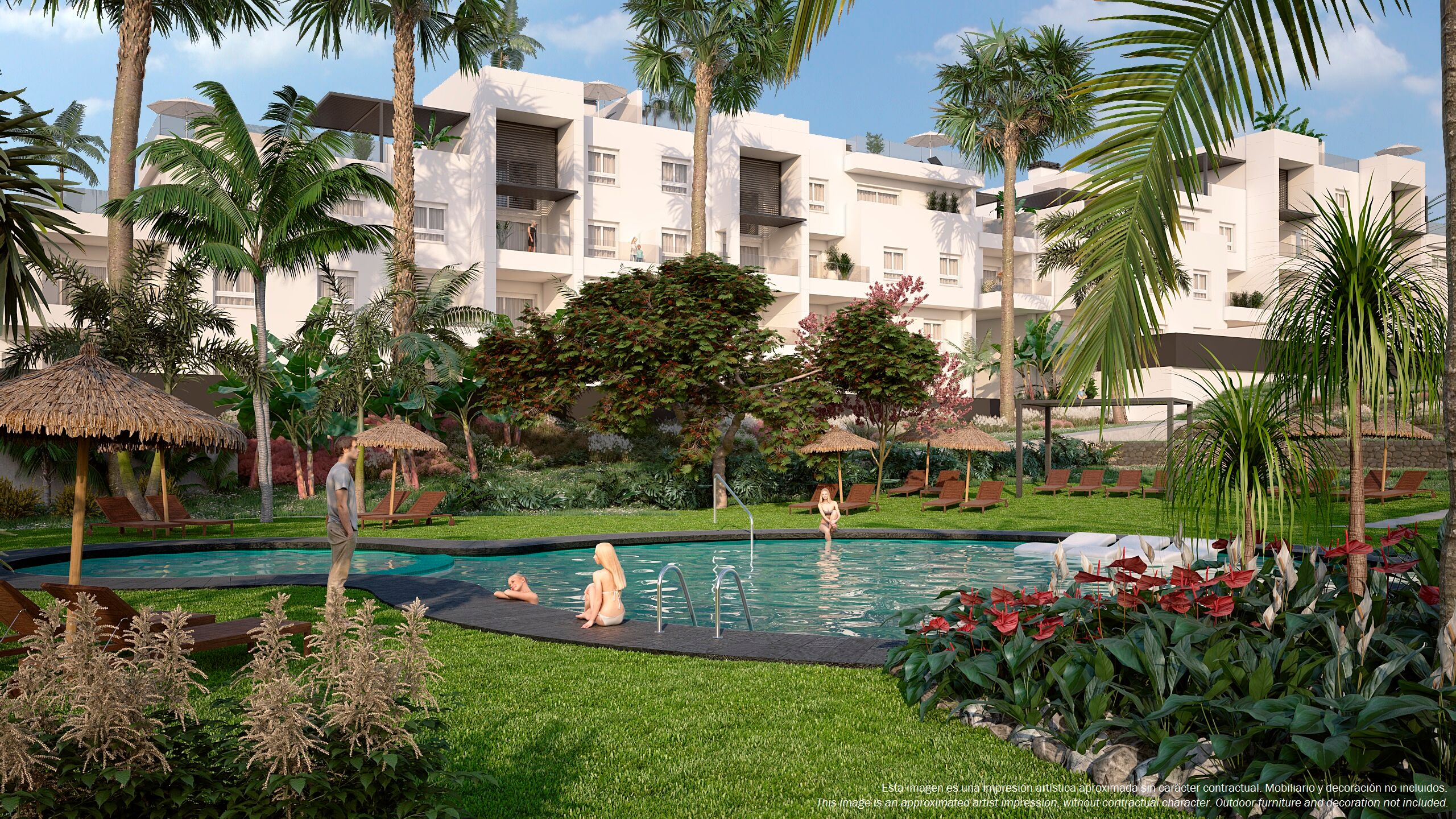 moderne appartementen Costa blanca Zuid, punta Prima Spanje