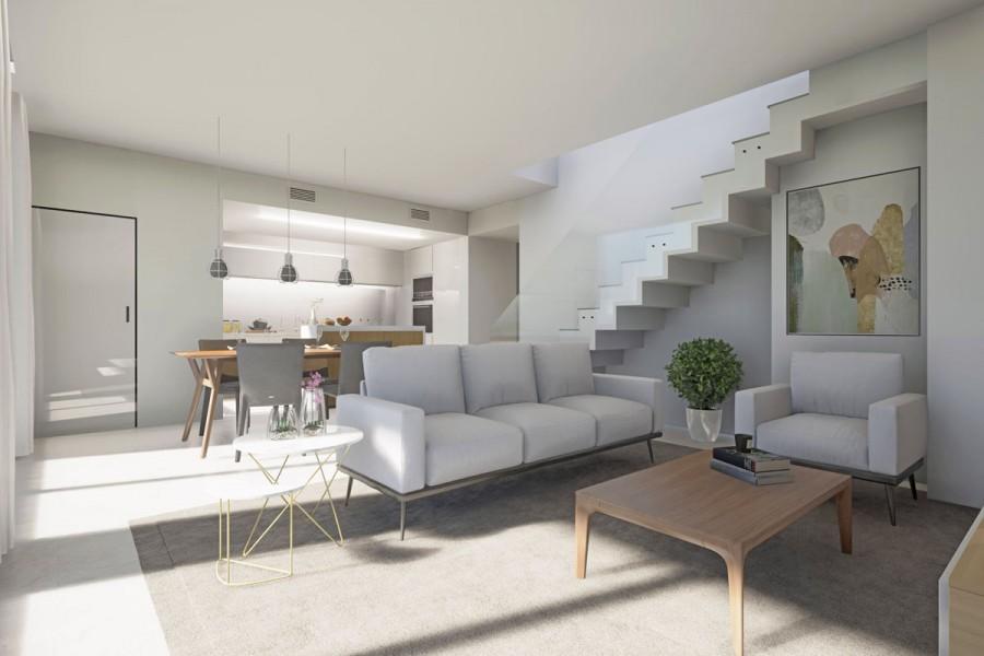 woonkamer moderne villa costa blanca zuid