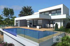 luxe villa panoramisch zeezicht Benitachell Costa Blanca Spanje