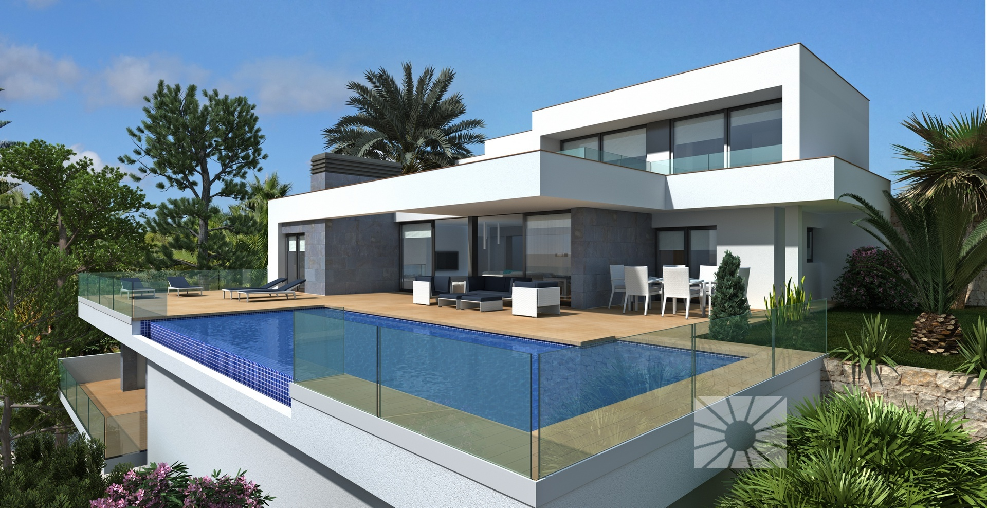 Superluxe villa met panoramisch zeezicht Benitachell