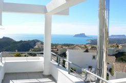 zeezicht villa Benitachell Costa Blanca Noord Spanje