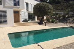 moderne strand villa El Portet Moraira Costa Blanca Noord Spanje