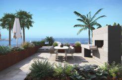 Luxe moderne villa 1e lijn zeezicht Costa Blanca Zuid