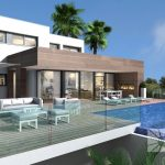 luxe zeezicht villa modern Benitachell Costa Blanca Noord