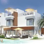 Moderne villa 300 meter strand Costa Calida