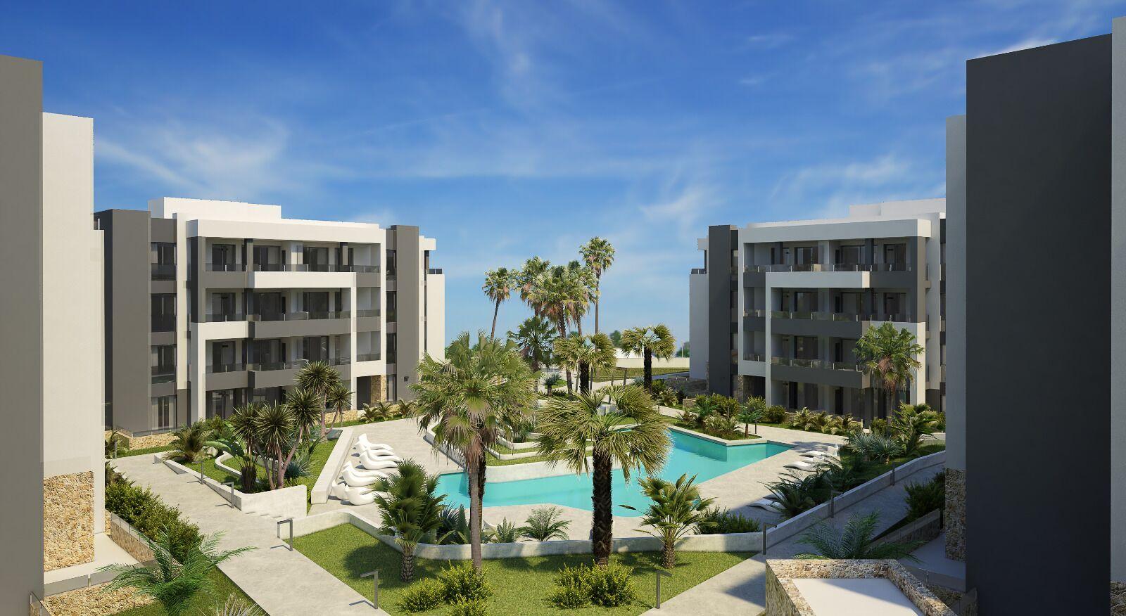 Moderne appartementen incl. meubels, airco en witgoed te Orihuela Costa
