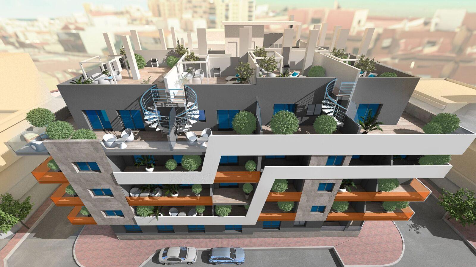 Moderne appartementen centrum Torrevieja costa blanca