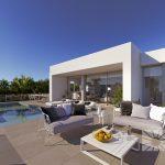 luxe zeezicht woning Benitacell Costa Blanca Spanje