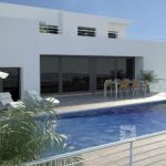 luxe moderne zeezicht villa Benitachell Costa Blanca Noord