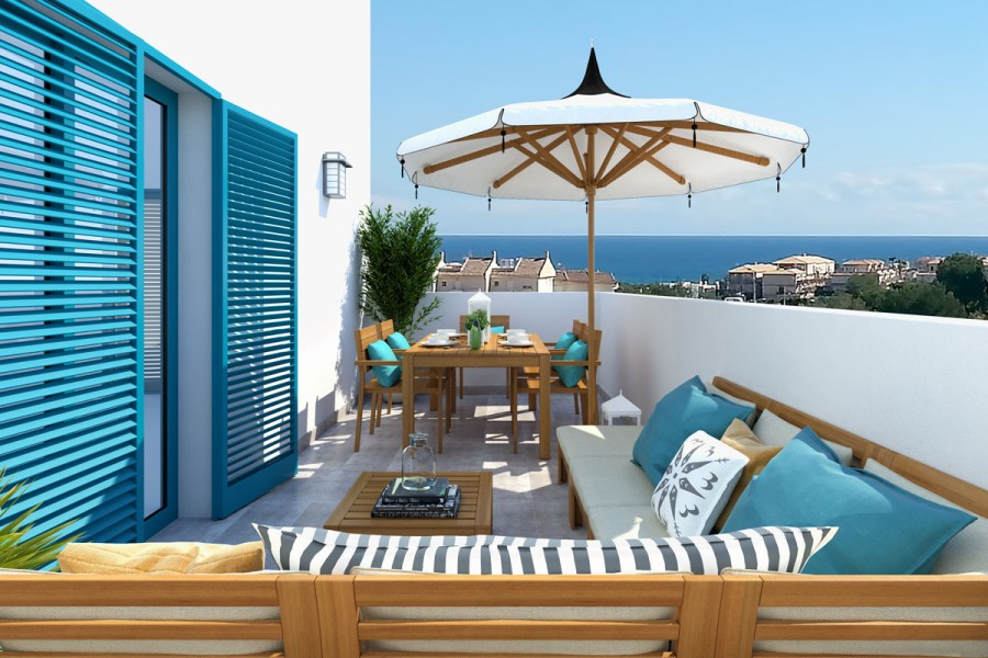 Moderne appartement in Playa Flamenca, Orihuela Costa, Costa Blanca Zuid