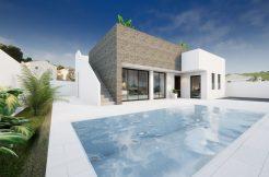 Moderne 3 slaapkamer villa's Costa Blanca Zuid
