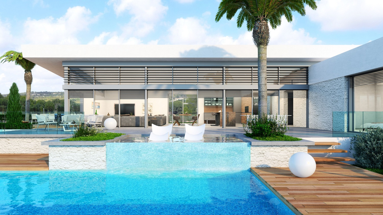 luxe moderne golf villa Orihuela Costa