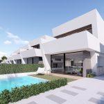 moderne villa vlakbij strand costa calida