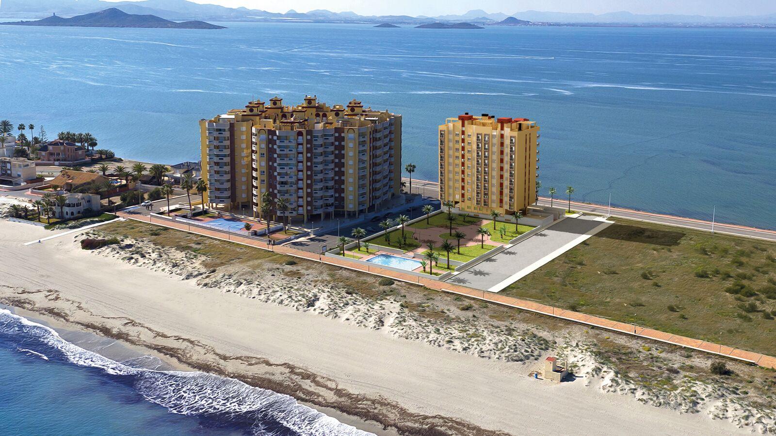 Moderne strand appartementen La Manga