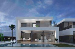 luxe moderne strand villa costa calida