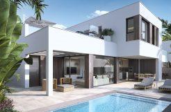 moderne strand villa costa blanca zuid