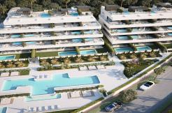 Nieuwe moderne golf appartementen New Golden Mile estepona costa del sol