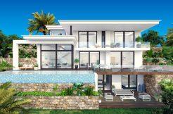 luxe moderne zeezicht villa moraira spanje