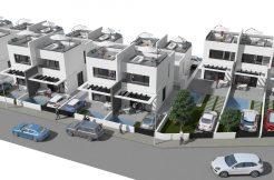 moderne geschakelde woningen orihuela costa spanje