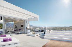 Eerstelijns golf luxe moderne appartementen La Cala Mijas costa costa del sol