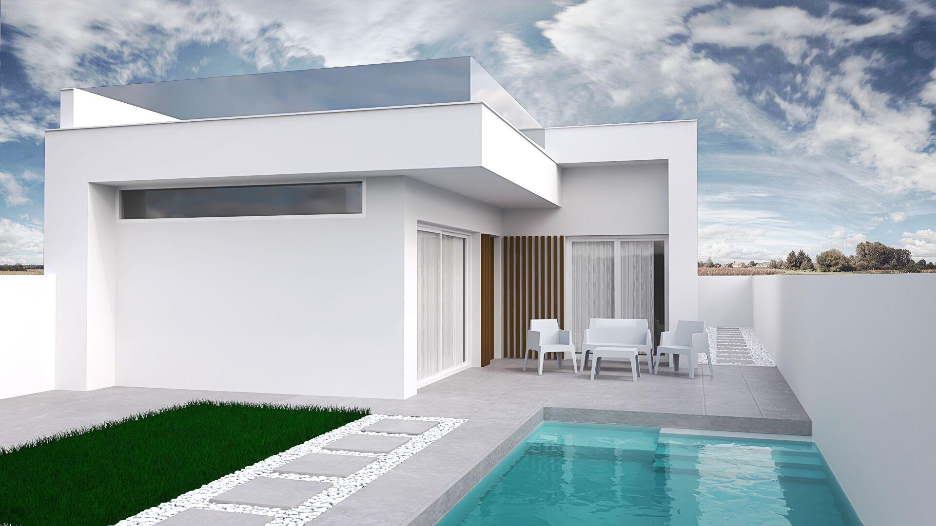 moderne bungalow Costa Calida