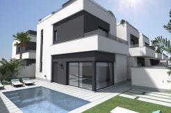 moderne villa Pilar de la horadada costa blanca zuid