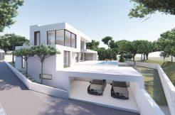 moderne luxe zeezicht villa strand moraira