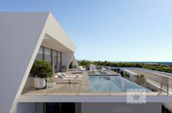 moderne zeezicht villa moraira-benitachell