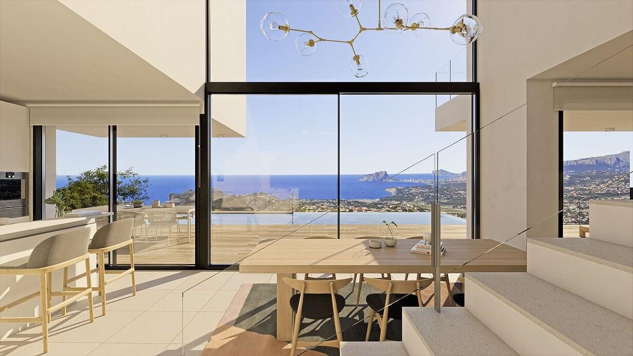 Luxe villa met panoramisch zeezicht, Benitachell