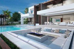 Luxe moderne zeezicht villa Costa del Sol kopen