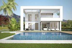 Moderne vrijstaande villa's te koop in Mijas Costa del sol