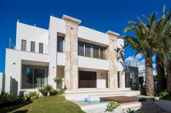 luxe moderne villa Golden Mile Marbella