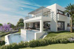 luxe zeezicht villa's cabopino-Marbella